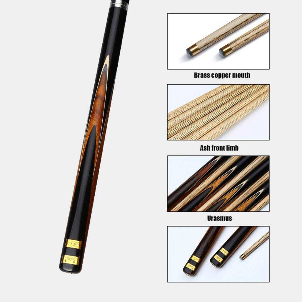 Alomejor Billard Rod Stick Carbon Fibe Pool Queue Billard Stick f/ür Billard Queue Pool