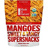 Made in Nature Organic Super Snacks, Dried Mango, 3 Pack (28 Ounce each) JCN@I