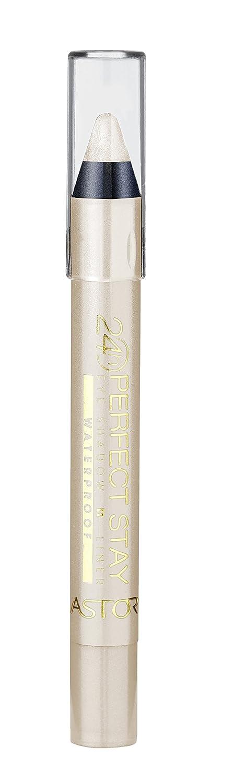 Astor Perfect Stay 24h ombretto e eyeliner resistente all'acqua, matita XXL, impermeabile, a lunga durata, colore 860 Melanzana scuro, confezione da 1 pz. (1 x 3 g) 26003281860