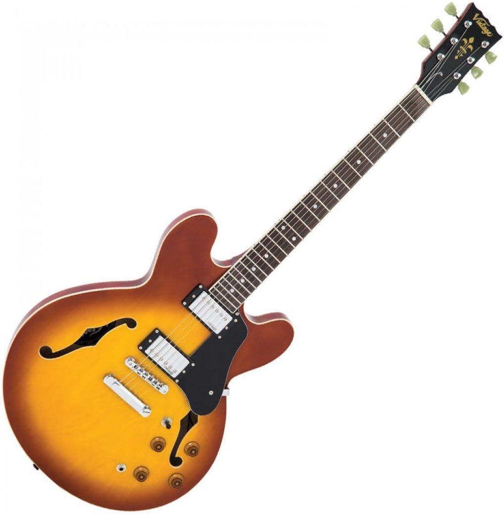 VSA500HB - Guitarra semiacústica vintage