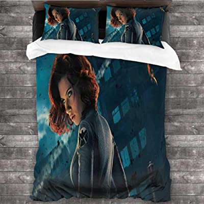 Dearest-Love Home Life Black Widow Scarlett Johansson 78x78 INCH Children Sleeping Mats: Home & Kitchen