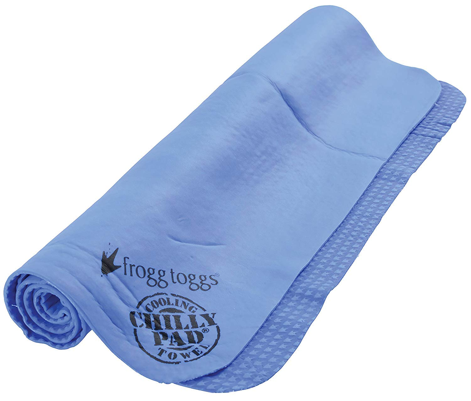 Frogg Toggs Chilly Pad Cooling Towel, Sky Blue, Size 33'' x 13''