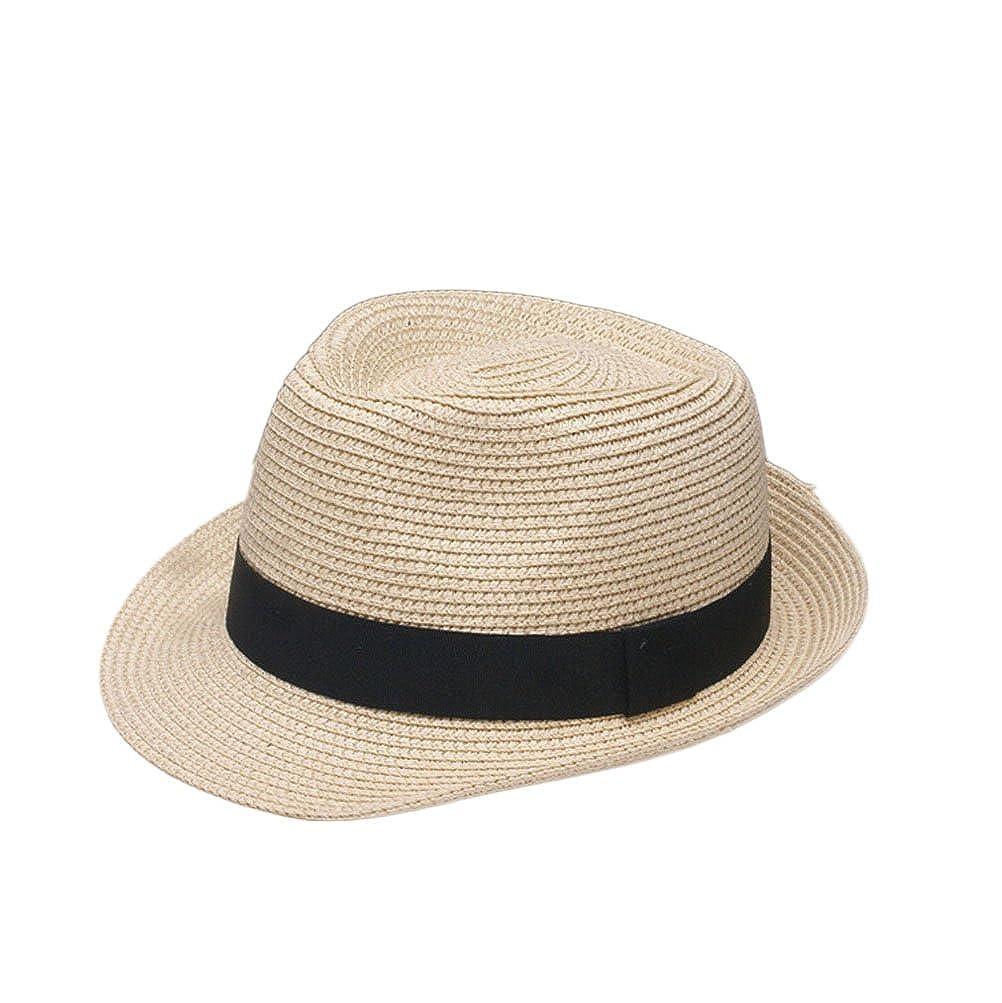 Nanxson(TM) Herren Damen Panamahut Strohhut Sommerhut Modern Jazz Hut MZM0021