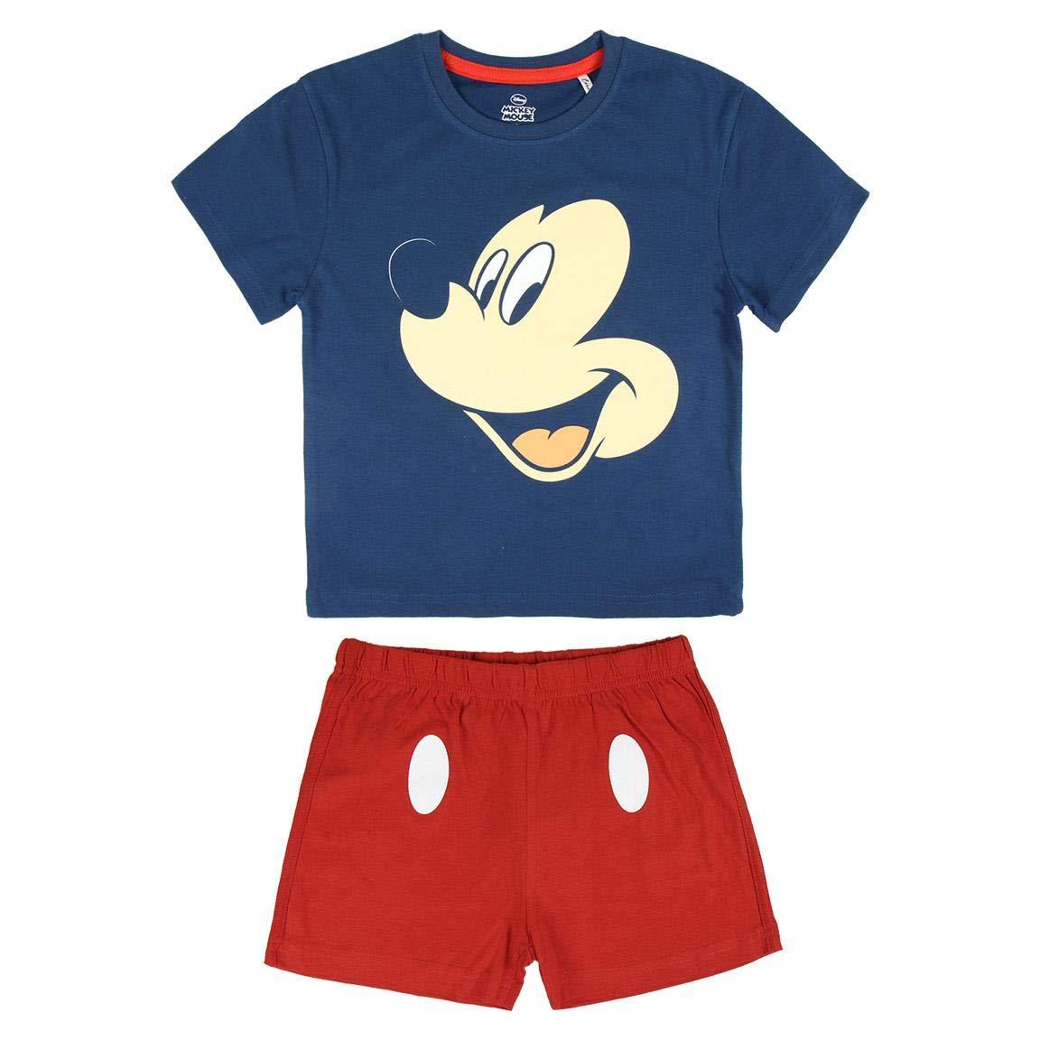 Pigiama Bambino Cerd/á Pijama Corto Algod/ón Mickey