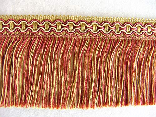 (Red/Gold Scroll by The Yard ~ Beautiful 3 1/2