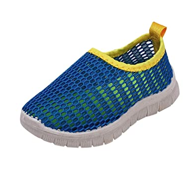 bfc566cfef6d4 Xmiral Chaussure Enfant bébés garçons Filles Mesh Sport Courir Souliers (21  EU