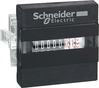 Schneider Electric XBKH70000002M Contador Horario, Pantalla 7 Dígitos Mecánica - 230 V Ca