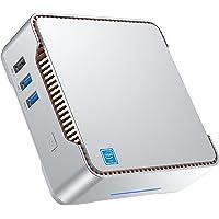 Mini PC Windows 10 Pro Intel Celeron J4125 - Ordenador de sobremesa (6 GB DDR4 + 128 GB ROM, soporta 2 HDMI + 1 X VGA…