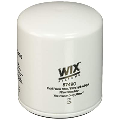 WIX Filters - 57490 Heavy Duty Spin-On Hydraulic Filter, Pack of 1: Automotive