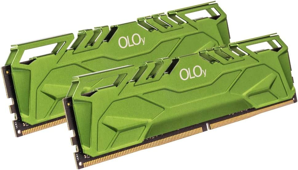 OLOy DDR4 RAM 64GB (2x32GB) 3000 MHz CL16 1.35V 288-Pin Desktop Gaming UDIMM (MD4U3230161DHGDA)