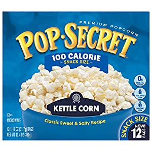 Pop Secret Popcorn, Kettle Corn, 3 onzas bolsas de ...