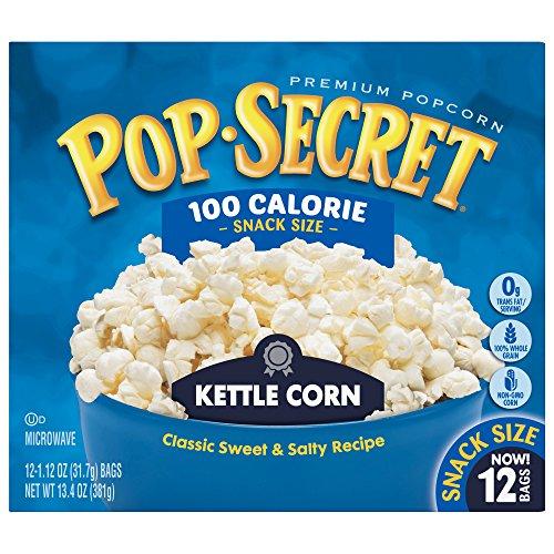 (Pop Secret Popcorn, Kettle Corn, 3 Ounce Microwave Bags, 12 Count Box, 12 Ct)