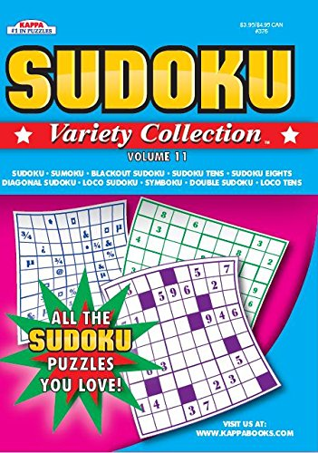 Sudoku Variety Collection Puzzle Book - Volume 11