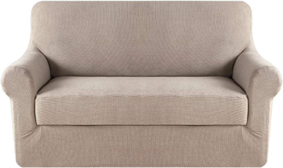 61UkCr%2BssoL. AC SL1000 - Best Slipcovers For Leather Sofas and Couches (Non-Slip) - ChairPicks