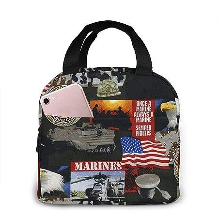 Lonchera Estados Unidos de América Marines Militares Lonchera ...