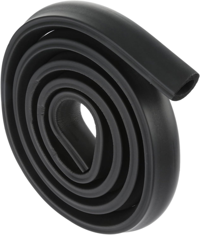 2Pcs 2m U-Shape Baby Child Safety Corner Protector Table Edge Corner Cushion Strip-Black