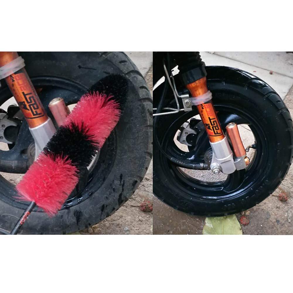 Master Wheel Brush Easy Reach Wheel and RIM Detailing Brush Soft Bristle US New
