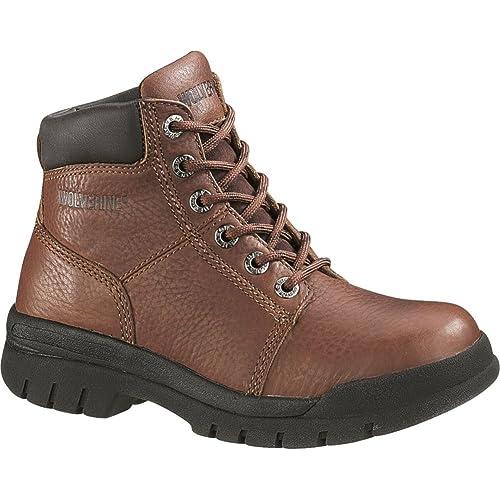 41694b30f84 Wolverine Women's Marquette WMS 6 Inch Steel Toe Toe Work Boot