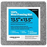 "13.5""x13.5"" Wool Pressing Mat for Ironing, Woolen"