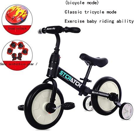 WWWNYY Desmontable, Pedal del Carro Deslizante, Carro Multifuncional con Triciclo para niños, Bicicleta de Dos Ruedas para bebés de 2-6 años,2,12: Amazon.es: Hogar