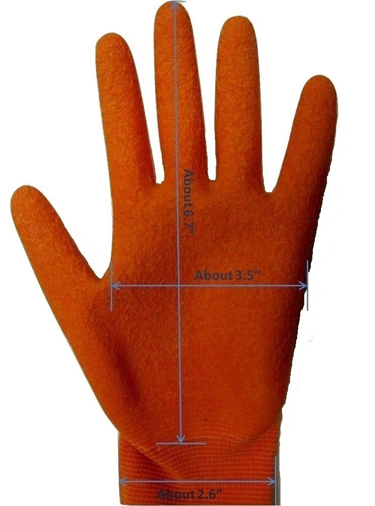 Fantastic Helper Kids Gardening gloves, Latex Coated (3 pairs), ages 6-12, Boys and Girls. 90-Day Free Exchanges and No Hassle Returns!