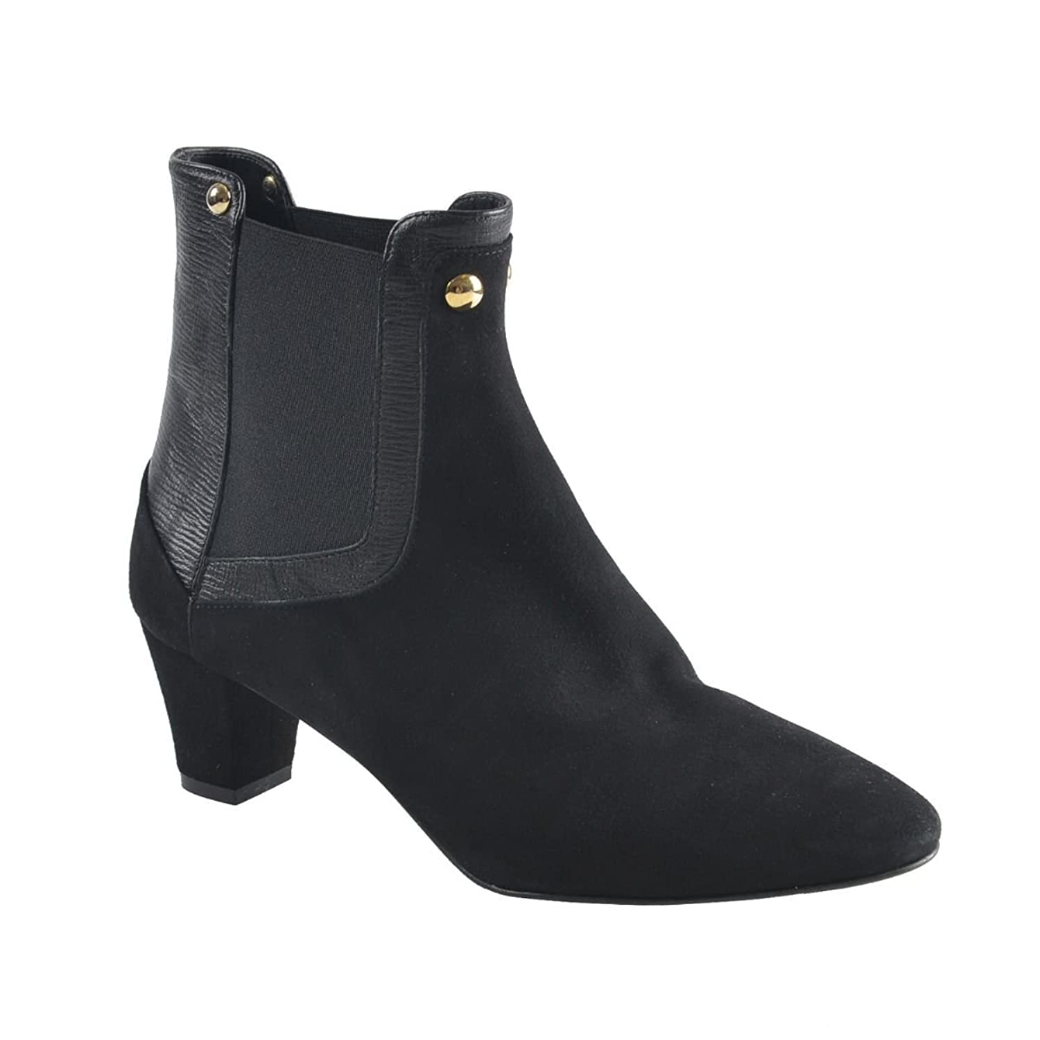 Just Cavalli Women's Black Suede Ankle Boots US 9 IT 39