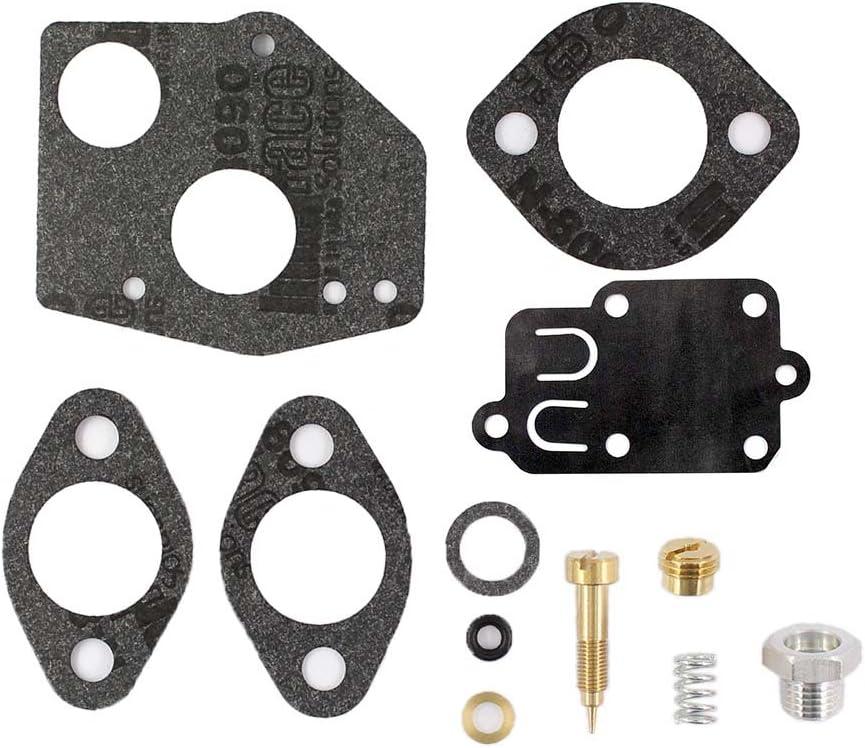 XtremeAmazing Carburetor Carb Overhaul Rebuild Repair Kit For Briggs /& Stratton 495606 494624 60200 62097 145200