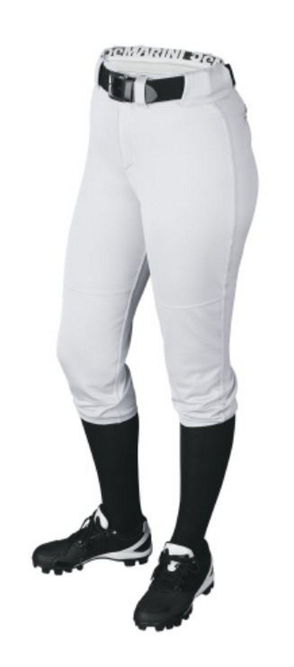 DeMarini Womens Sleek Pull Up Pant, Team White, Small by DeMarini (Image #2)