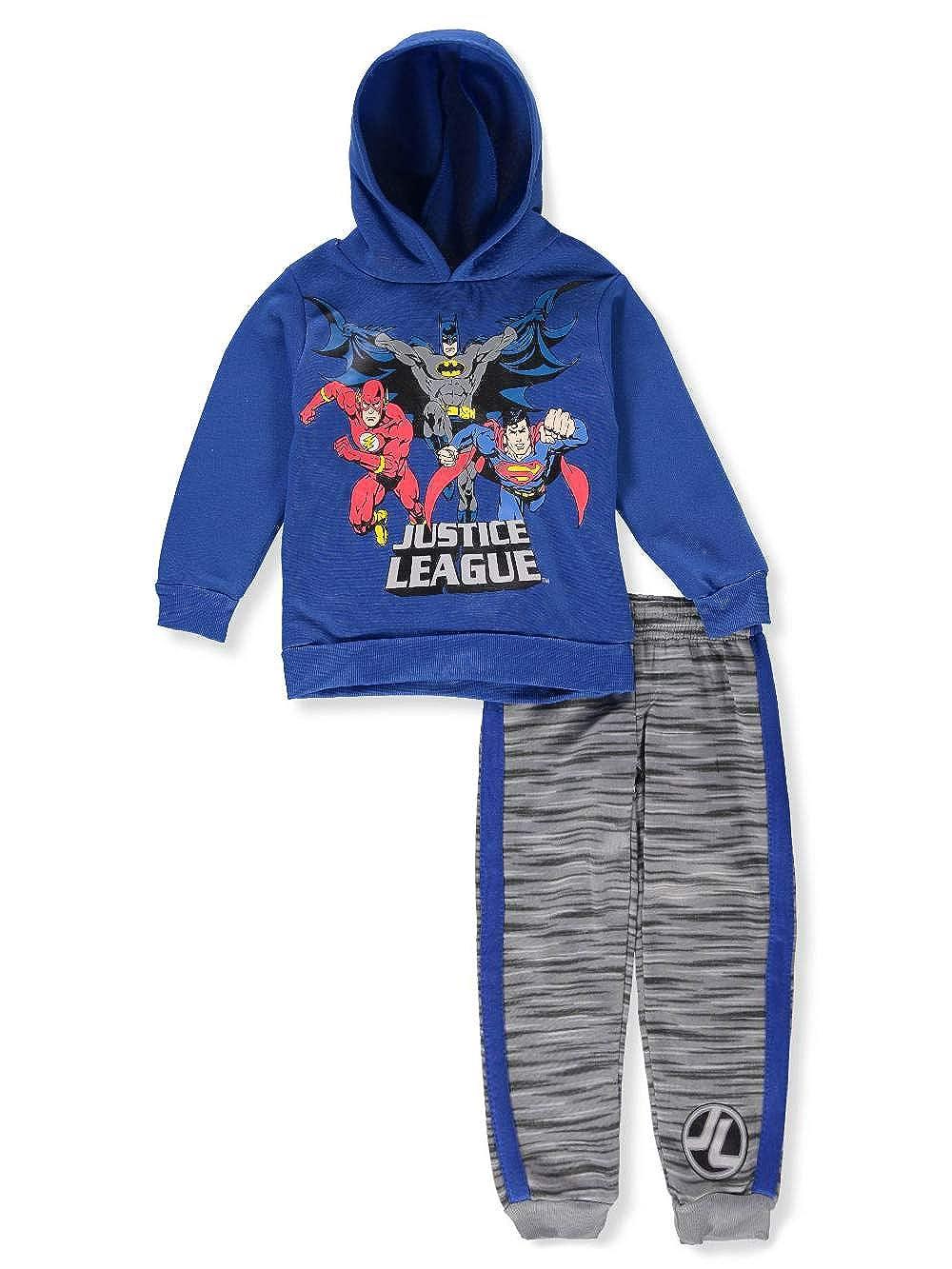 Justice League Boys' 2-Piece Sweatsuit Pants Set
