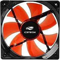 Cooler Storm 12 Cm, C3Tech, F7-L100Rd, Acessórios para Computador