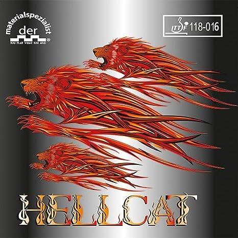 Der Materialspezialist Belag Hellcat halblange Noppe