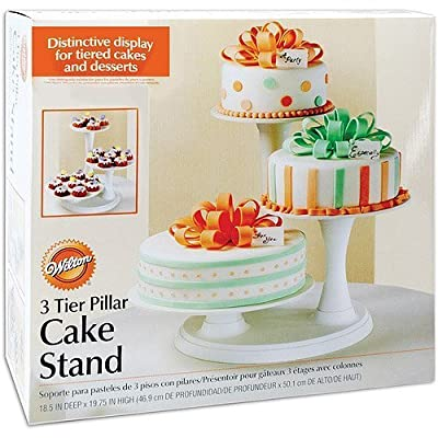 Wilton Cakes and Cupcake Stand