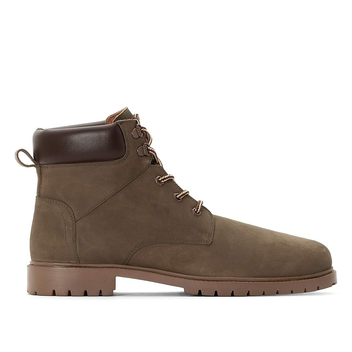 Uniross Mens Leather Ankle Boots