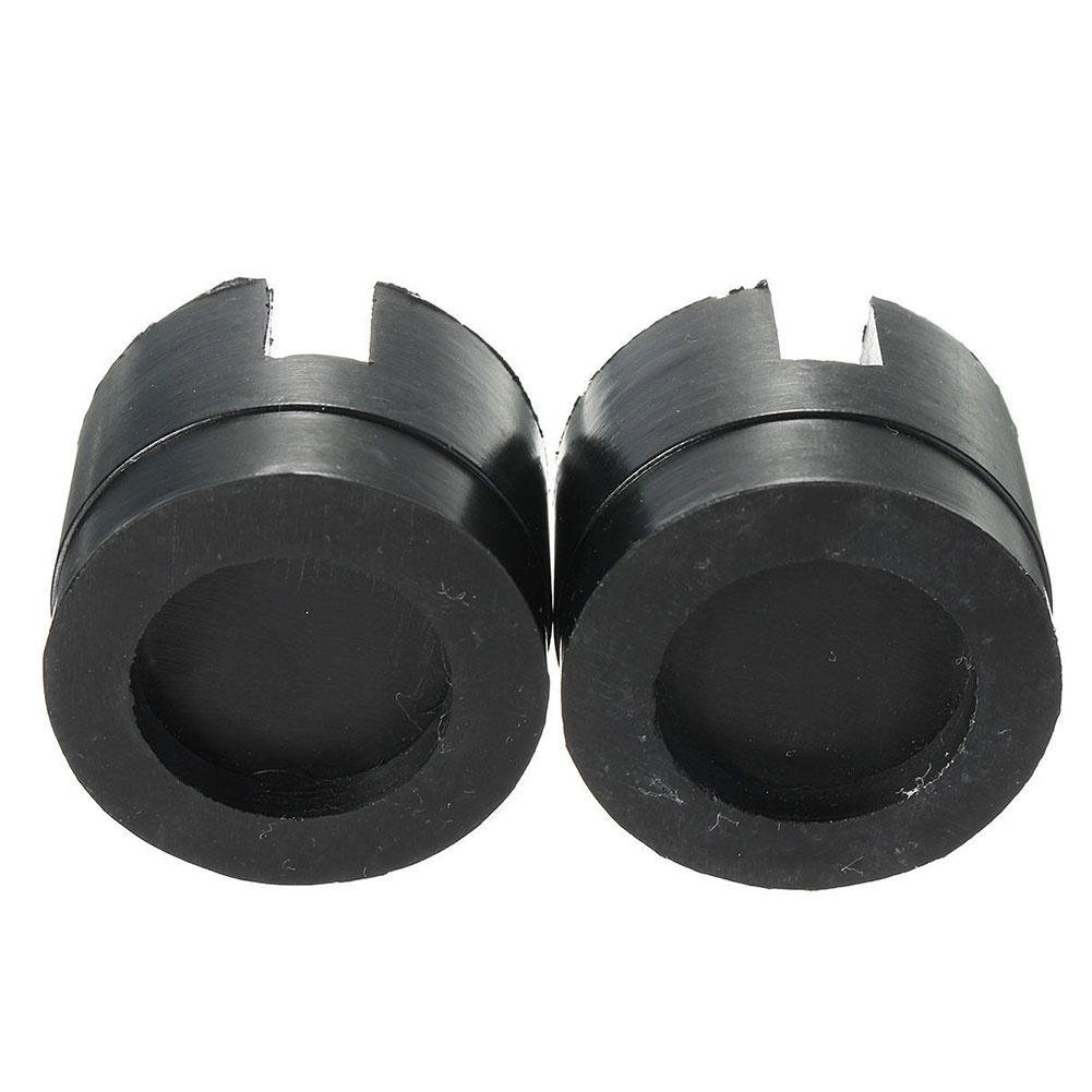 ZHUOTOP 2 Pz Cuscinetto in Gomma di Protezione per i Punti di Presa per il Sollevamento con Cric Posti Sotto gli Autoveicoli Universale con Intaglio 5 cm