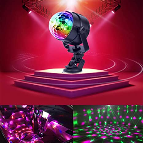 Party Lights Remote Battery Disco Ball Light Baby Strobe Light