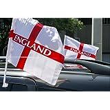 England (St George) Car Flag x 2 [Misc.]