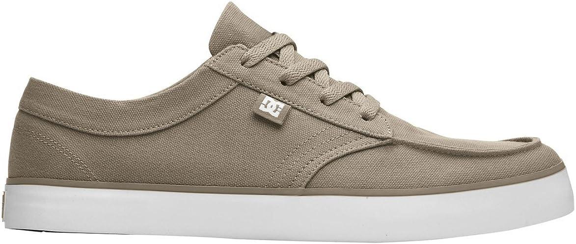 DC Men's Standard TX Skate Shoe Wheat/White