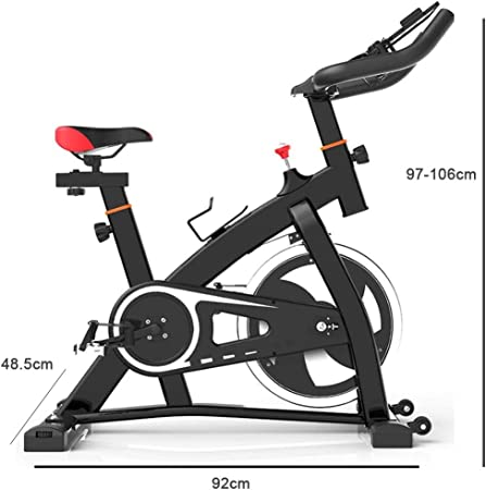 Spinning Exercise Bike Interior Home Bicycle,Multi-Speed Drag ...