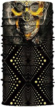 Details about  /7-14Y Kids 3D Skull Venom Face Bike  Cover Neck Gaiter Ski Balaclava Bandana