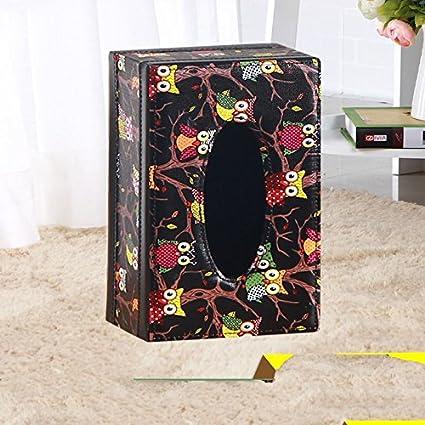 XBR Cortico servilleta de papel toalla de papel caja caja,Buho negro trompeta,25