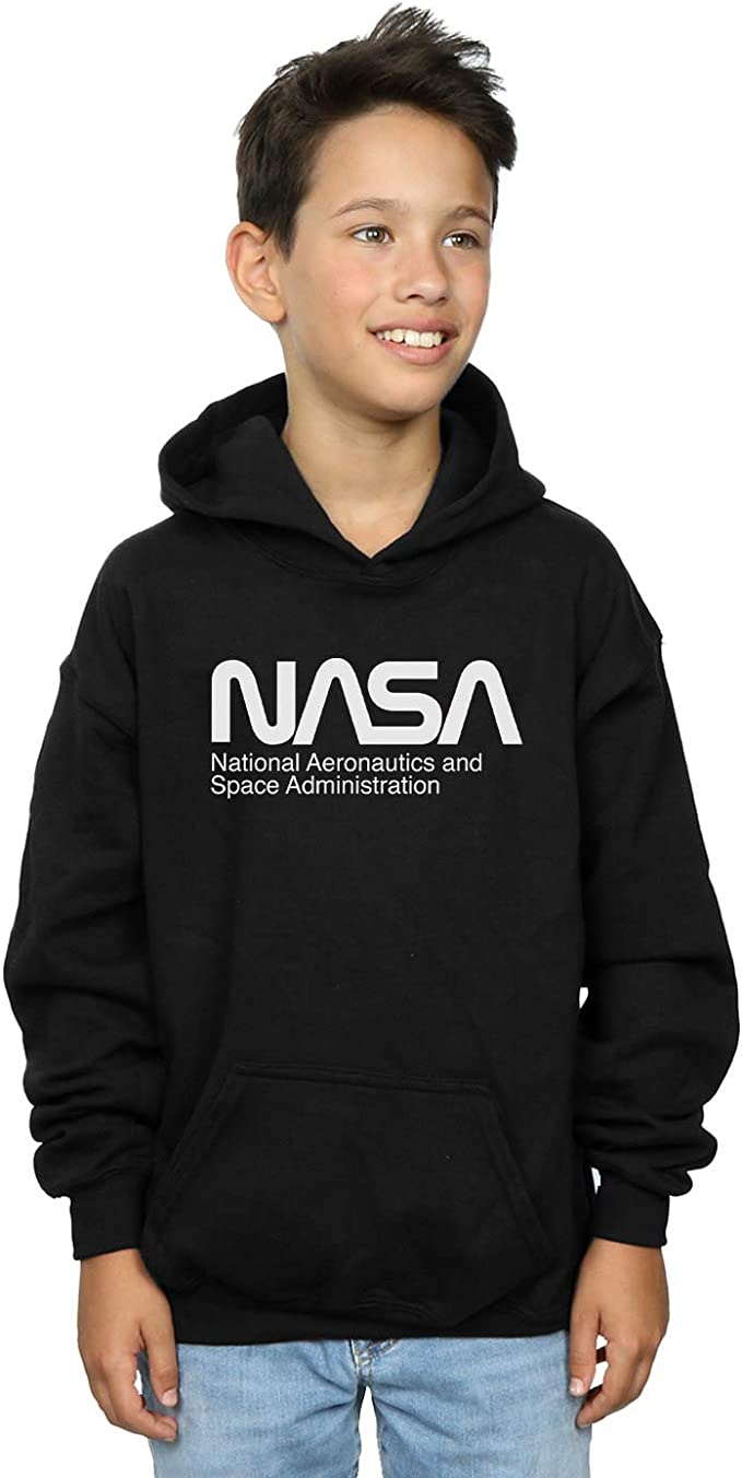 NASA Garçon Aeronautics and Space Sweat À Capuche