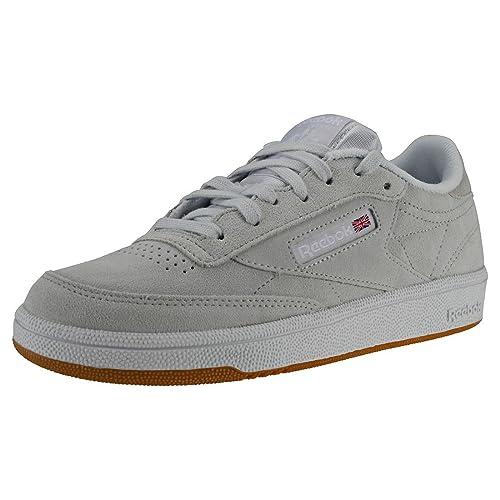 48800fc6c Reebok Women's Club C 85 Fitness Shoes, Multicolour (Premim Basic 3/Spirit  White