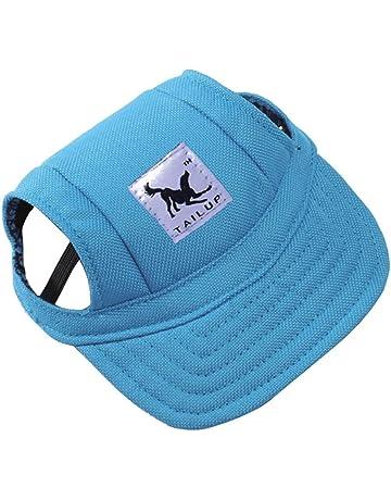 b27c1c25a9 Sunyoyo Small Pet Summer Canvas Cap Dog Baseball Visor Hat Puppy Outdoor  Sunbonnet Cap for Chihuahua