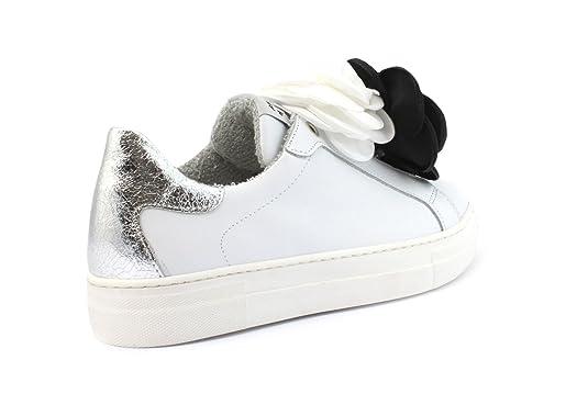 La Venta En Línea Barata Salida Para La Venta Meline D. Luxe Sneaker MELINE D.LUXE RE1507 P/GALAXY BIANCO-SPILLE CAMELIE BIA/NERE El Envío Del Descenso Barato Amplia Gama De xcgIHJ5