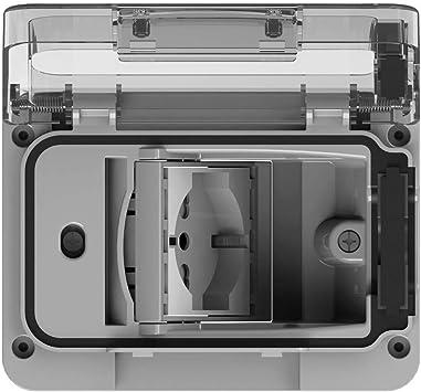 4box 4b.w.Ral.015 Wide IP55 para Caja de empotrar Tipo 503 con ...