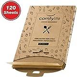 120 x Parchment Paper Sheets - No Curl, No Tear, No Burn Baking Paper (16 x 12 inch) – Precut Parchment Paper For Baking…