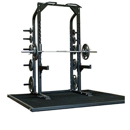 Athletic Connection J-Hook Adjustable Bar Champion Half Rack