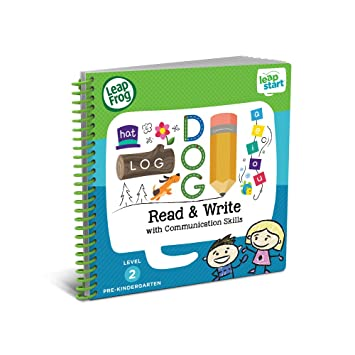 Leapfrog Leap Start Preschool Activity Book - Read and Write and Communication Skills, Multi Color at amazon