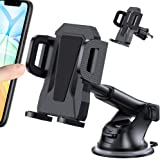 MIRACASE Car Phone Mount Universal 2-in-1 Car Phone Holder with Dashboard Air Vent Windshield Cell Phone Holder with…