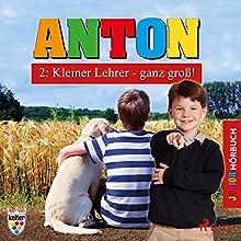Kleiner Lehrer - ganz groß! (Anton 2) Hörbuch von Elsegret Ruge Gesprochen von: Lena Donnermann